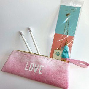 NEW Do What You Love Pencil Case Bookmark School